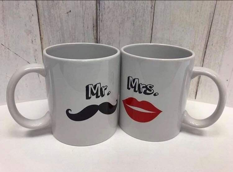 Mr&Ms bögre szett